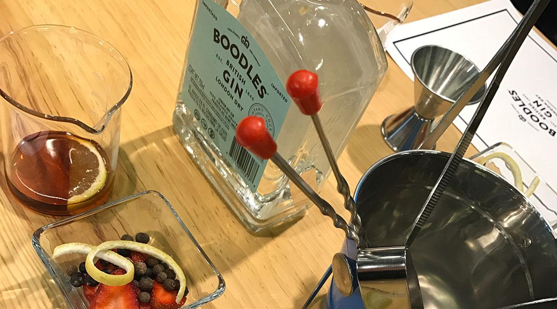 1a Clínica de Gin con Boodles